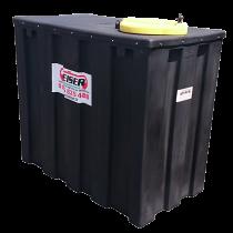 Citerne de récupération renforcé pour huiles usagées en plastique PEHD 1000 litres