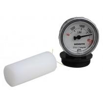 """Jauge de litrage 2"""" pour citerne en plastique PEHD sans odeur double paroi"""