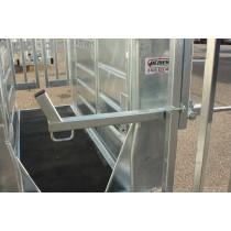 Lève tête mécanique pour cage à bovin