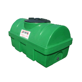 Citerne verte en plastique PEHD 500 litres densité 1300 kg/m3