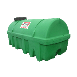 Citerne verte en plastique PEHD 6500 litres densité 1300 kg/m3