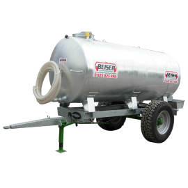 Citerne galvanisée sur châssis galvanisé 1000 litres