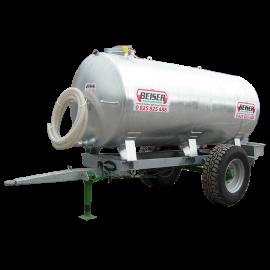 Citerne galvanisée sur châssis galvanisé 1500 litres
