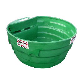 Bac à eau / herbage en plastique PEHD 900 L