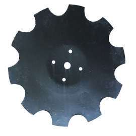 Disque crénelé diamètre 465/5 mm pour déchaumeur à dents Beiser