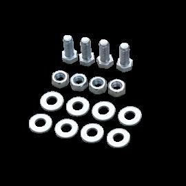 Kit de fixation pour 2 glissières