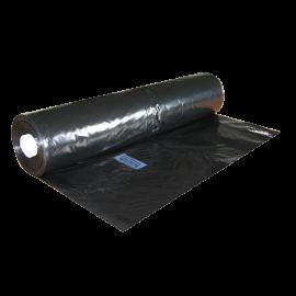 Bâche plastique noire 14 m 150 mic/348 m2