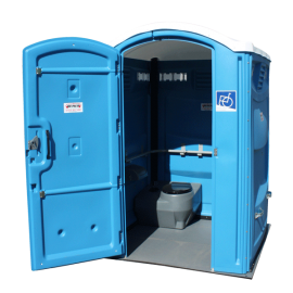 WC mobile pour personne handicapée