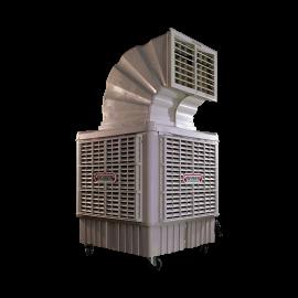 Rafraîchisseur d'air mobile 18000m3/h avec cheminée