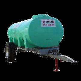 Citerne PEHD 6000 L sur châssis agraire