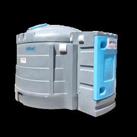 Station B-Blue double paroi PEHD 5000 litres avec chauffage intégré