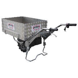 Plateforme électrique mobile 1 roue avec caisson