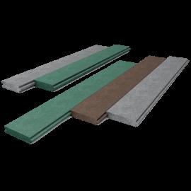 Planche spéciale box marron (2850 x 130 x 38)