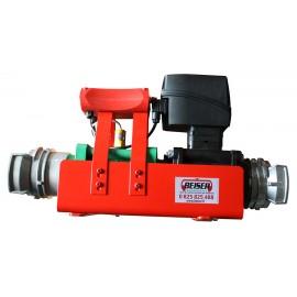 Compteur programmable pour eau et engrais liquide avec raccord pompier DN80