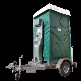 WC mobile sur remorque