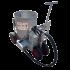 Chariot mélangeur/distributeur 250 litres inox sur 4 roues (nouveau modèle)