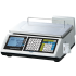 Balance commerciale à ticket, module fiscal intégré (15/30KG, précision 5/10G)