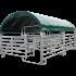 Modulabri avec barrières texas 6M X 4M et bâche de couverture