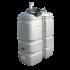 """Beiser Environnement - Station citerne fuel double paroi en plastique PEHD sans odeur, 1000 litres, pompe 24V avec limiteur de remplissage 2"""""""