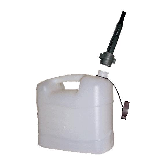 Jerrycan en polyethylène pour eau alimentaire 15 litres