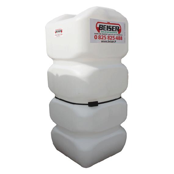 Citerne fuel blanche PEHD renforcé 750 litres