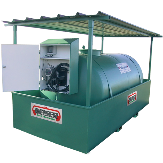 Station citerne fuel industrielle NN 4000 litres