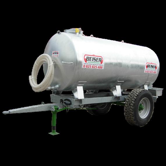 Citerne galvanisée sur châssis galvanisé 4100 litres