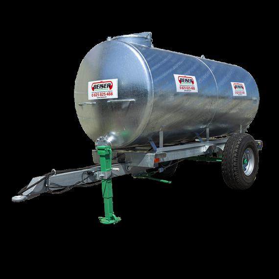 Citerne galvanisée sur châssis galvanisé 1500 litres en KIT