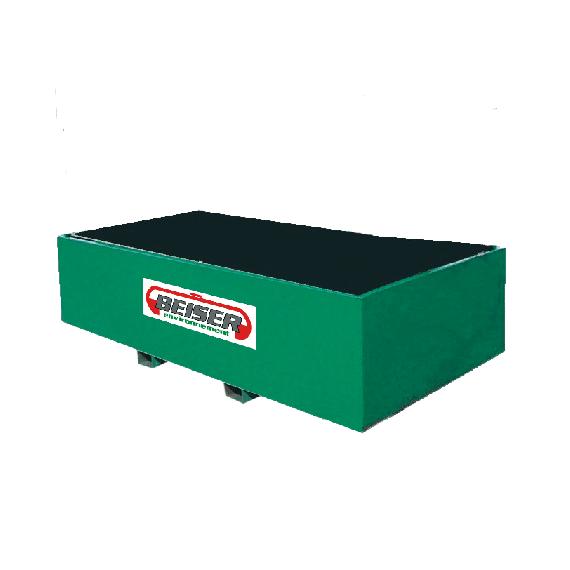 Bac de rétention métallique 8000 litres