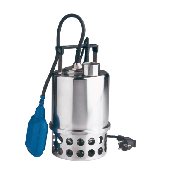 Pompe de relevage à eau immergée inox 230V KIT