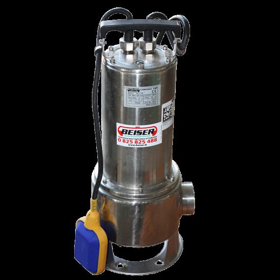 "Pompe immergée inox 1,5 KW 220 V avec flotteur 2"" kit"