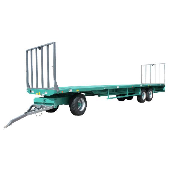 Remorque 12 m plaque tournante - Modèle Lourd roues de 435/50R/19.5