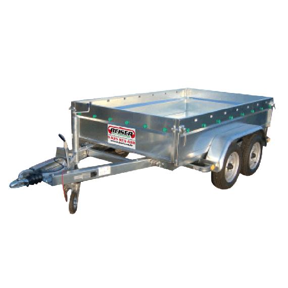 Remorque routière 2 essieux PTAC 2000 kg