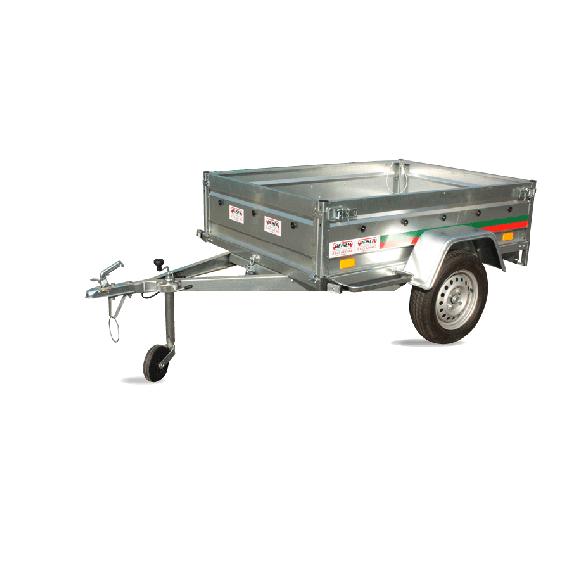 Remorque rouitère basculante PTAC 500kg