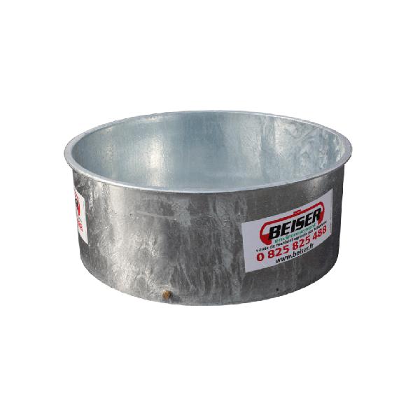 Bac à eau / herbage galva 600 L