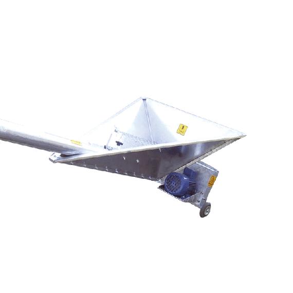 Vis à grains sur roulettes avec petite trémie, 7 m, Ø 150