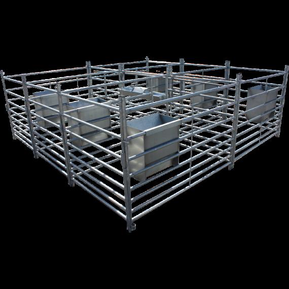 Cage Agnelage 6 box