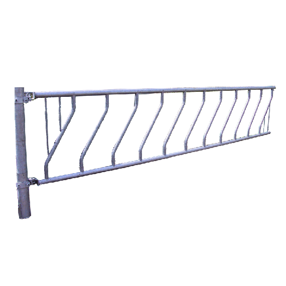 Libre-service à barres obliques 12 places 6 mètres