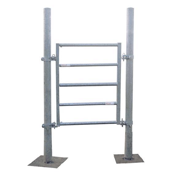 Portillon de service - largeur de 1,40 à 1,80 m
