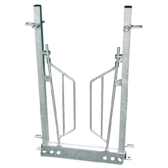 Porte anti recul pour couloir à ovin