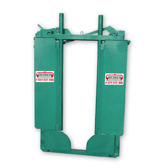 Porte avant de métier ou cage à bovin à serrage progressif