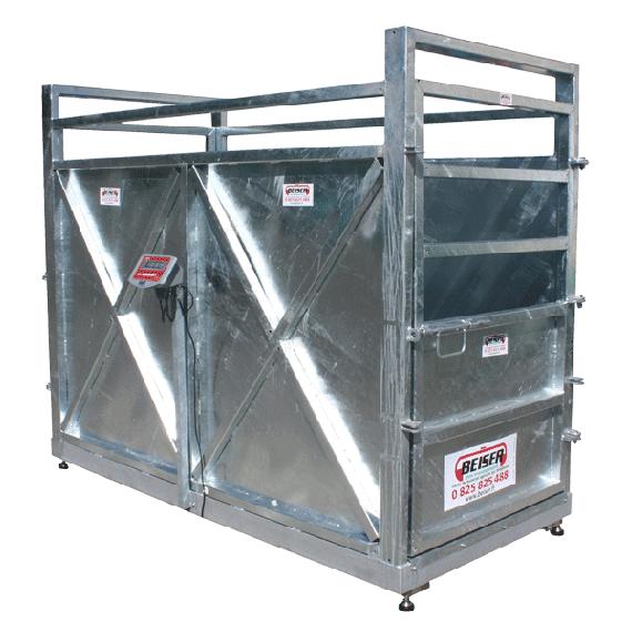 Cage de pesage pour gros bétail