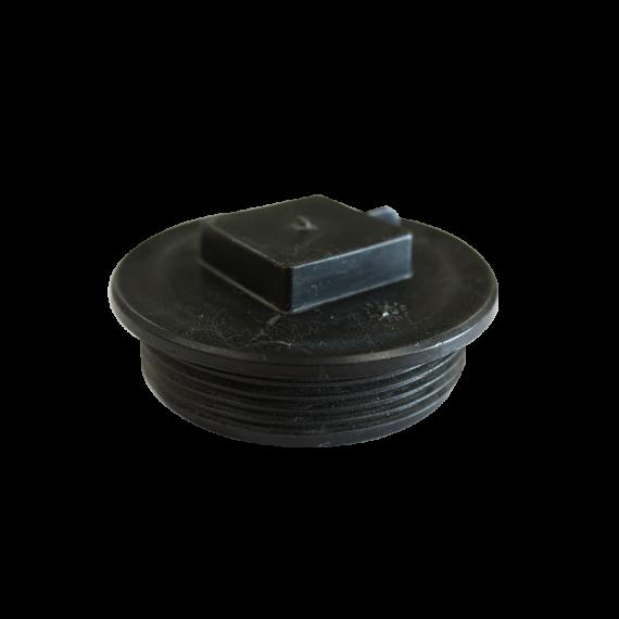 Bouchon plastique pour auge métallique