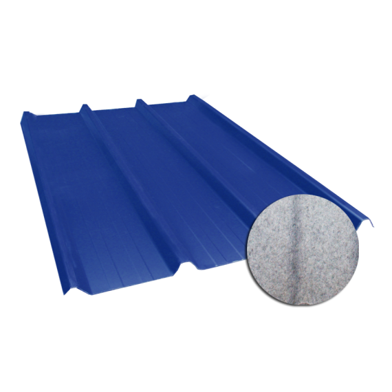Tôle nervurée 45-333-1000, 60/100e régulateur de condensation bleu ardoise - 3 m