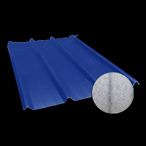 Tôle nervurée 45-333-1000, 60/100ème, régulateur de condensation bleu ardoise - 6 m