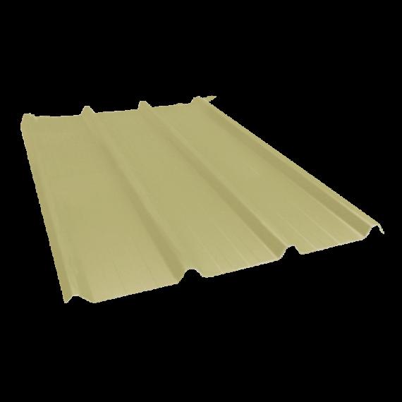 Tôle nervurée 45-333-1000, 70/100e jaune sable RAL1015 - 4 m