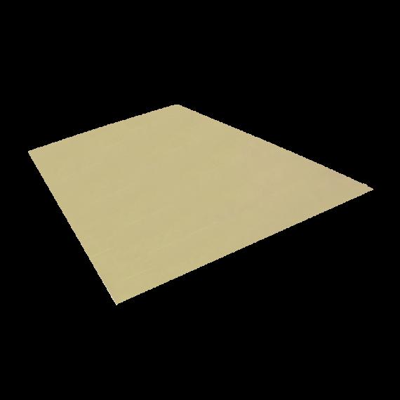 Tôle plane, jaune sable RAL1015, 1,22 x 2 m