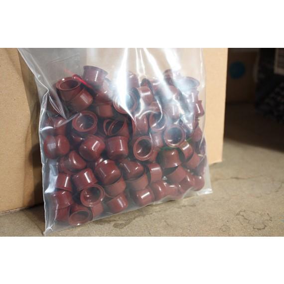 Capuchons Plastiques RAL 8012, 100 Pièces