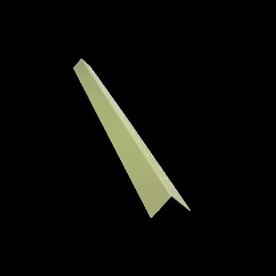 Angle de bardage 100/100, jaune sable RAL1015