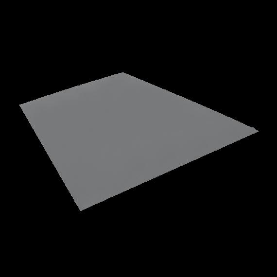 Tôle PLANE pour Tôle TUILE 1,22 x 2m Gris Anthracite le m²